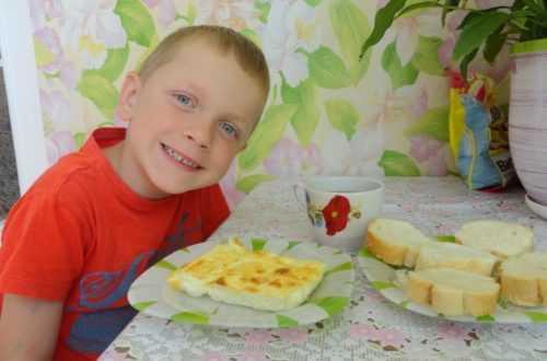 Омлет в духовке как в детстве